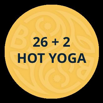26 + 2 Hot Yoga