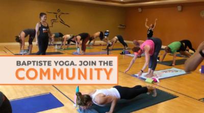 Baptiste Yoga. Join the Community.